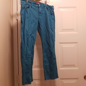 🌻Turquoise Jeans